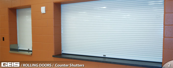 Counter Shutters Rolling Doors Geis Garage Doors
