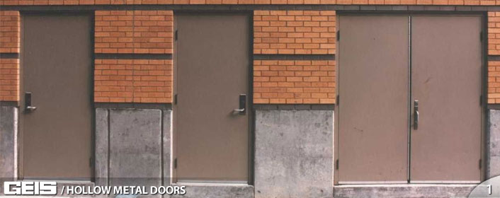 Commercial Hollow Metal Doors From GEIS In Milwaukee