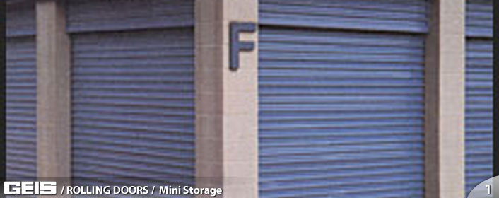 Commercial Mini Storage Doors from GEIS in Milwaukeee