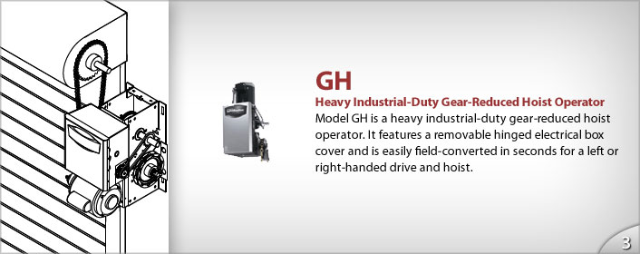 Commercial Industrial Hoist Opener from GEIS in Milwaukee