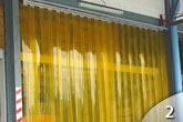 Commercial PVC Strip Curtains from GEIS in Milwaukee