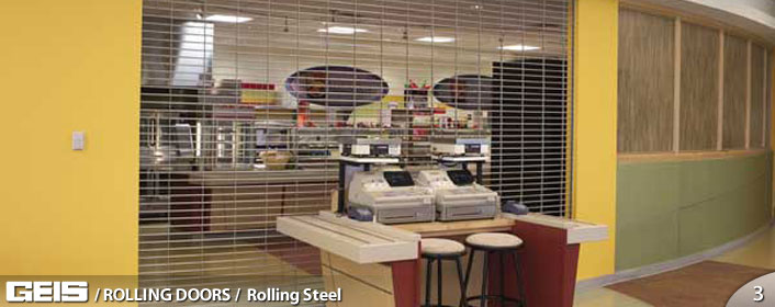 Commercial Rolling Steel Doors from GEIS in Milwaukee