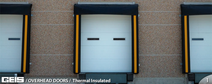 Commercial Overhead Thermal Insulated Garage Door from GEIS in Milwaukeee