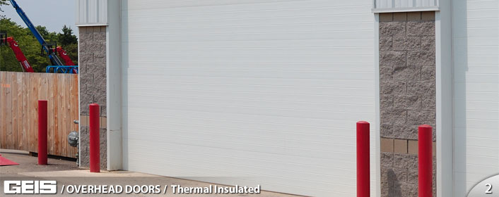 Commercial Overhead Thermal Insulated Garage Door from GEIS in Milwaukee