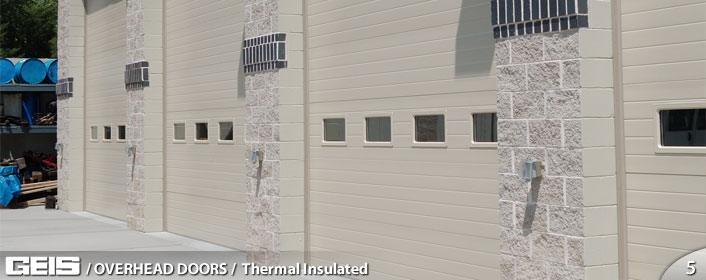 Thermal Insulated Overhead Doors Geis Garage Doors Milwaukee