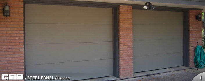 Charming Steel Panel Flush Garage Door From GEIS In Milwaukee