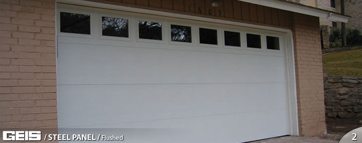 Flush Panel Steel Panel Geis Garage Doors Milwaukee