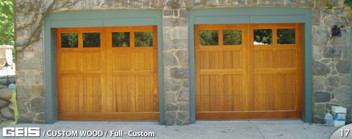 Full-Custom | Custom Wood | GEIS Garage Doors - Milwaukee