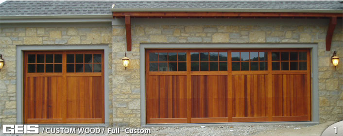 Full Custom Custom Wood Geis Garage Doors Milwaukee