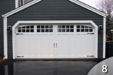 Steel Face Garage Door from GEIS in Milwaukee