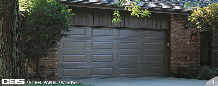 Wide Panel Steel Panel Geis Garage Doors Milwaukee