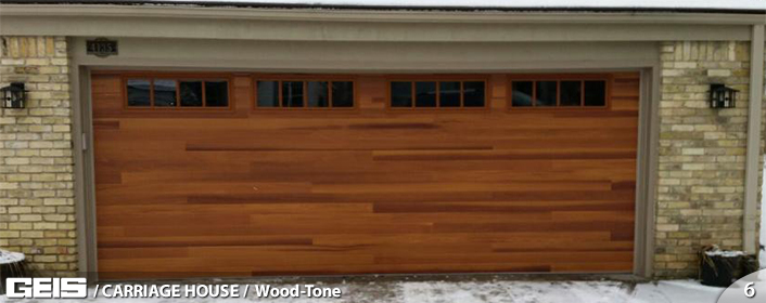 Wood Tone Carriage House Options Geis Garage Doors